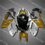 Yamaha YZF600R Thundercat 97-07 Gold Black Fairing-Handcraft, Free Shipping!