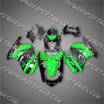 Injection Molded For Kawasaki Ninja EX250 250R 08 09 ABS Fairing 25W01, Free Shipping!