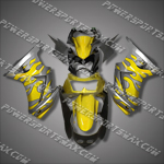 Injection Molded For Kawasaki Ninja EX250 250R 08 09 Flame Fairing 25W05, Free Shipping!