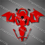 Honda VFR800 Interceptor 02-07 Red Fairing 82N26-Handcraft, Free Shipping!