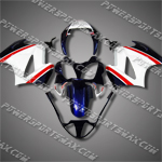 Honda VFR800 Interceptor 02-07 Blue Fairing 82N22-Handcraft, Free Shipping!