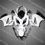 Honda VFR800 Interceptor 02-07 White Fairing 82N20-Handcraft, Free Shipping!