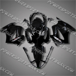 Honda VFR800 Interceptor 02-07 Black Fairing 82N10-Handcraft, Free Shipping!