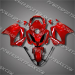 Honda VFR800 Interceptor 02-07 Red Fairing 82N35-Handcraft, Free Shipping!
