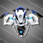 Honda VFR800 Interceptor 02-07 White Fairing 82N17-Handcraft, Free Shipping!