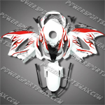 Honda VFR800 Interceptor 02-07 Flames Fairing 82N12-Handcraft, Free Shipping!