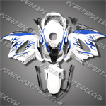 Honda VFR800 Interceptor 02-07 Flames Fairing 82N13-Handcraft, Free Shipping!