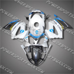 Honda VFR800 Interceptor 02-07 Black Fairing 82N16-Handcraft, Free Shipping!