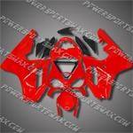 Triumph Daytona 675 06-08 Triple Red Fairing 67T11-Handcraft, Free Shipping!