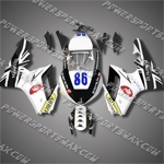 Triumph Daytona 675 06-08 ARROW 86 Fairing 67T32-Handcraft, Free Shipping!