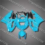 Triumph Daytona 675 06-08 Light Blue Fairing 67T15-Handcraft, Free Shipping!