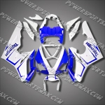 Triumph Daytona 675 06-08 Triple Blue White Fairing-Handcraft, Free Shipping!