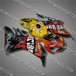 Fairing For Honda 2006 2007 CBR 1000 RR Injection Mold Plastics Set Body Work W2, Free Shipping!