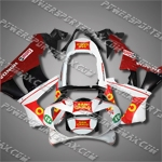 Honda 00-01 CBR 929RR ABS Fairing Rare White Black Set, Free Shipping!