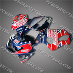 Fairing For Honda 1999 2000 CBR 600 F4 Plastics Set Injection Molding Body Work, Free Shipping!