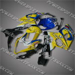 Fairing For 2005-2006 Suzuki GSX-R GSXR 1000 K5 Plastics Set Injection mold, Free Shipping!