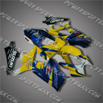 Fairing For 2007 2008 Suzuki GSX-R GSXR 1000 K7 Plastics Set Injection mold, Free Shipping!