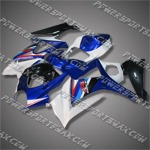 Fairing For 2007-2008 Suzuki GSX-R 1000 K7 Plastics Set Injection mold, Free Shipping!