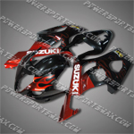 Fairing For 2003 2004 Suzuki GSX-R GSXR 1000 K3 Plastics Set Injection mold, Free Shipping!