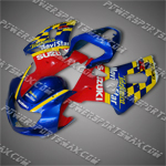 Fairing For 2001 2002 2003 Suzuki GSXR 600 750 K1 Plastics Set Injection Mold, Free Shipping!