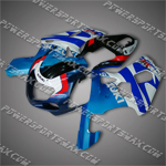 Fairing For 2001 2002 2003 Suzuki GSX-R 750 K1 Plastics Set Injection Mold, Free Shipping!