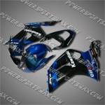 Fairing For Kawasaki 2003 2004 ZX 6R 03 04 636 Injection Molding Plastics Set, Free Shipping!