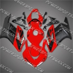 Injection Molded For CBR1000RR 04 05 Red Black Fairing 14N38