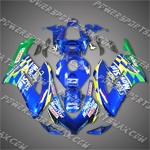 For CBR1000RR 04 05 Blue Movistar Fairing 14N11