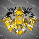 Honda CBR1000RR 04 05 155# Yellow Fairing, Free Shipping!