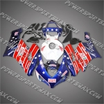 Injection Molded For CBR1000RR 04 05 Castrol Red Blue Fairing 14N62, Free Shipping!