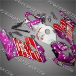 Honda CBR1000RR 04 05 Castrol Red Purple Fairing, Free Shipping!