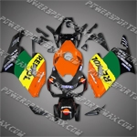 Honda CBR1000RR 04 05 Repsol Orange Fairing, Free Shipping!