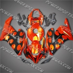 Honda CBR1000RR 04 05 Darts Flames Fairing 183A