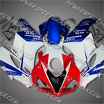 Honda CBR1000RR 04 05 Red White Blue ABS Fairing ZN946