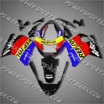 Honda CBR1100XX Blackbird Repsol Blue Fairing, Free Shipping!