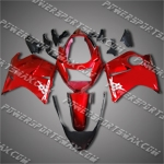 For CBR1100XX Blackbird Repsol Blue Fairing