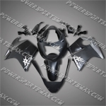 Honda CBR1100XX Blackbird Flat Black Fairing 11N09