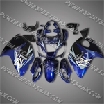 Suzuki Hayabusa GSX1300R 08 09 Blue Fairing 38Z26, Free Shipping!
