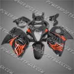 Suzuki Hayabusa GSX1300R 08 09 Orange Fairing 38Z31, Free Shipping!