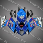 Suzuki GSX-R1000 07 08 K7 Blue Black Fairing ZS461