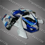 Suzuki 2004 2005 GSX-R 600 GSXR 750 K4 Fairing Plastics Set Injection Molding