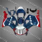 Honda RC51 VTR1000SP1 00-06 Red Blue Fairing ZN978-Handcraft