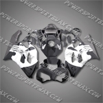 Honda CBR1000RR 04 05 Skull Black Fairing 14N59