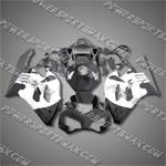 Honda CBR1000RR 04 05 Skull Black Fairing 14N59, Free Shipping!
