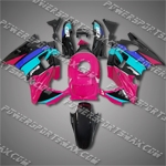 Honda CBR600F2 91-94 92 93 Colorful ABS Fairing Set 21N62-handcraft