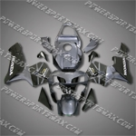 Honda CBR600RR 03 04 Grey Black Fairing ZN840