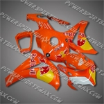 Honda CBR1000RR 08-11 Red Orange ABS Fairing ZN902