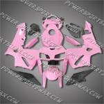 Honda CBR600RR 05 06 Pink Black Fairing ZN1045