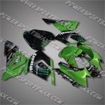 Fairing For KAWASAKI 2004 2005 ZX-10R 04 05 ZX10R Injection Molding Plastics Set