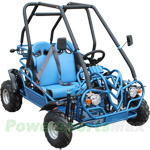 GK-F007 110cc Middle Size Go Kart with Semi-Automatic Transmission w/Reverse, Front & Rear Disc Brakes!